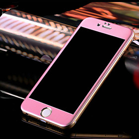 Full Screen 3D Surface Around Steel Glass Film for iPhone 6/6S (Assorted Colors) 4527742