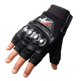 PRO-BIKER MCS-04F Motorcycle Racing Half-Finger Protective Gloves 4569596