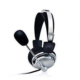 Stereo PC Headset with Microphone Earphones Gaming Headbands 4968063