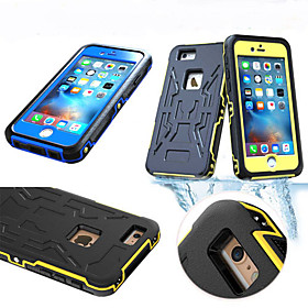 Per Custodia iPhone 6 Plus Acqua \/ Dirt \/ Shock Proof Custodia Integrale Custodia Armaturato Resistente PC Apple iPhone 6s Plus\/6 Plus