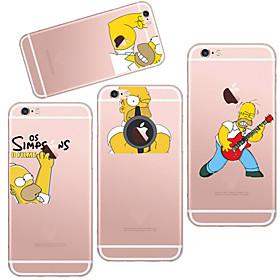 para o iphone 7 maycarithe considerável TPU simpson volta caso para iphone 6s 6 / iphone 4611055