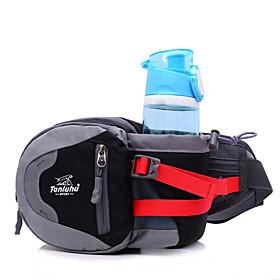Bottle Carrier Belt Belt Pouch/Belt Bag Waist Bag / Waistpack for Camping / Hiking Climbing Cycling / Bike Running Sports Bag