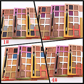 10 Colors European Eyeshadow Palette Naked Nude Eye Shadow Glittery Shimmer Make-up Set(Assorted Color) 4611274