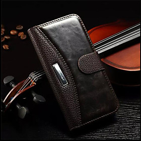 Case For Apple iPhone 6 Plus / iPhone 6 Wallet / Card Holder / with Stand Full Body Cases Solid Colored Hard Genuine Leather for iPhone 7 Plus / iPhone 7 / iPh