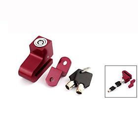 Motorcycle Bike Bicycle Anti-theft Alarm Disk Disc Brake Lock w 2 Key 4587492