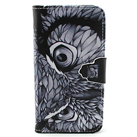 Owl Pattern PU Leather Full Body Cover with Stand for Sony Xperia Z5 Compact Coupon 2016