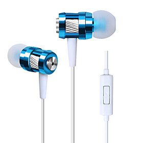 High Quality Stereo Headset In Ear Metal Earphone handsfree Headphones with Mic 3.5mm Earbuds for Samsung S4/S5 4579419