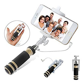 VORMOR Selfie Stick Wired Extendable Max Length 48 Android iOS