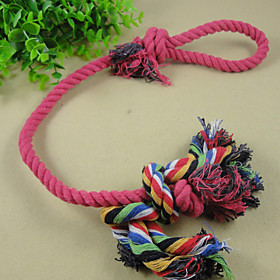 Long Cotton Rope Knot Pet Toys The Cat And Dog Toys Clean Tooth Line Clean Tooth Swing The Ball Tease Cats Tease Dogs coupon codes 2016