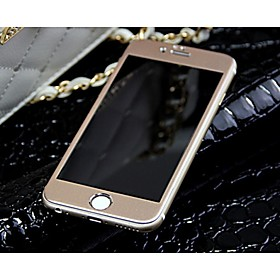 Titanium alloy Full Cover Arc Tempered Glass Screen Protector film (front and back) (Rose Gold) for iPhone6 plus 4706198