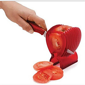Take Offer 1 stk Cutter Slicer For for Vegetabilsk Plast Hoy kvalitet / Originale / Creative Kitchen Gadget Before Special Offer Ends