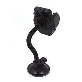 Black Suction Base Flexible Neck Windshield Mount Holder for Cell Phone GPS 4643989