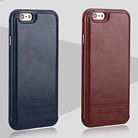 iphone 7 mais o novo couro de luxo para trás e caixa do telefone armação de metal para iPhone 6 / 6s 4680661