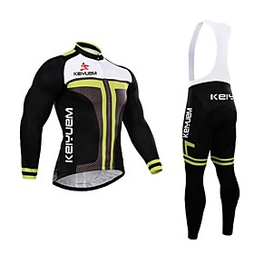 KEIYUEM Bike/Cycling Tights / Jersey  Pants/JerseyTights / Bib Tights / Clothing Sets/Suits Men's Long SleeveWaterproof / Breathable / 4662058