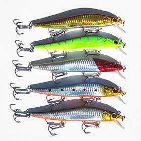 5Pcs/Lot 14cm 23g Large Fishing Lures Baits Fishing Tackles Minnow Bait Big Game Saltwater Hard Baits Wholesale 4871364