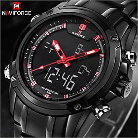 NAVIFORCE Luxury Brand Fashion Men's Watches Strip Waterproof Quartz Watch Montre Men Military watch Sports Wrist Watch Cool Watch Unique Watch 4688115