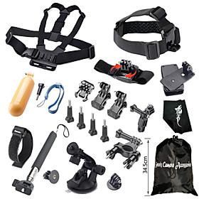 Accessories For GoPro,Monopod Screw Buoy Suction Cup Straps Clip Hand Grips/Finger Grooves Mount/HolderFor-Action Camera,Gopro Hero1 3727841