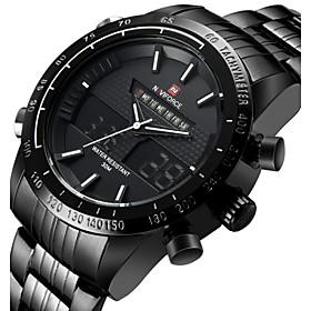 NAVIFORCE Luxury Brand Fashion Men's Watches Waterproof Quartz Watch Montre Men Military diesel watch Sports Wristwatches Cool Watch Unique Watch 4688116