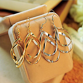 Women's Drop Earrings - Statement, Personalized, European Silver / Golden For Party Daily Casual