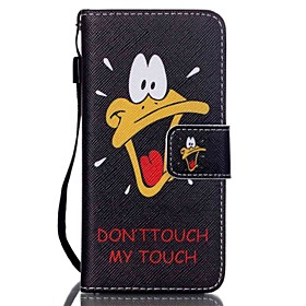 Coloured Drawing PU Leather Mobile Holster Including Anti-dust Plug stylus for iPod Touch 6 4753755
