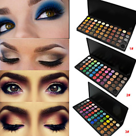 Top Sale 55 Colors European Matte And Shimmer Eyeshadow Palette Makeup Eye Shadow Set Glitter Eye Kits(Assorted Colors) 4750867
