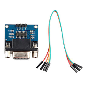 RS232 Serial Port to TTL Converter Communication Module w/ Dupont Cable for Arduino 3204