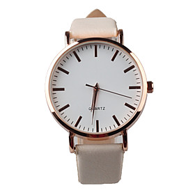 Foreign Hot Genuine Fashion Beautiful White Leather Ladies Watch Cool Watches Unique Watches 4789967