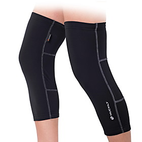 Nuckily Leg Warmers / Knee Warmers Socks Black Winter Thermal / Warm Breathable Anatomic Design Yoga Camping / Hiking Exercise  Fitness Men's Women's Unisex So