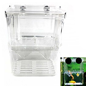Double Incubator Juvenile Fish Reproduction Isolation Box (L Size) 4743441