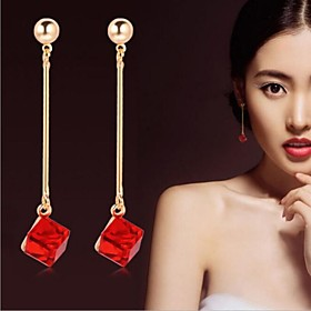 Women's Crystal Drop Earrings Crystal Earrings Bridal Jewelry For Wedding Party Daily Casual