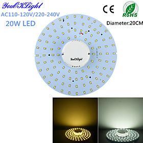 YouOKLight 20W 1800Lm  100-2835SMD Warm White Light / White Light LED Ceiling Light(AC110-120V/220-240V) 4791989