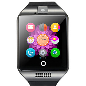 Q18 Smartwatch Android Bluetooth USB Touch Screen Calories Burned Hands-Free Calls Camera Timer Call Reminder Activity Tracker Sleep Tracker Sedentary Reminder