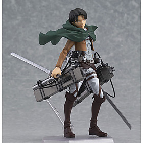 Anime Action Figures Inspired by Attack on Titan Eren Jager PVC 14 CM Model Toys Doll Toy 4811521