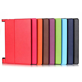 Image of 10.1 Inch High Quality PU Leather Case for Lenovo YT3-X50F TAB(YOGA TAB3-X50F)(Assorted Colors)