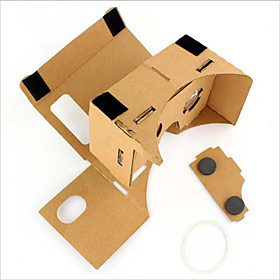 Cardboard VR Virtual Reality Glasses Storm Mirror DIY Kit 4812735