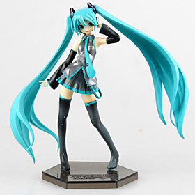 Anime Action Figures Inspired by Vocaloid Hatsune Miku PVC 19 CM Model Toys Doll Toy 4809321