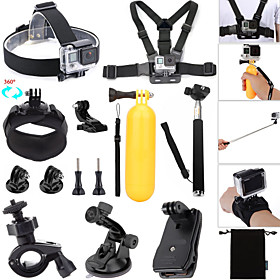 Accessories For GoPro,Monopod Buoy Suction Cup Straps Clip Hand Grips/Finger Grooves Balaclavas Mount/HolderWaterproof Convenient 4871067