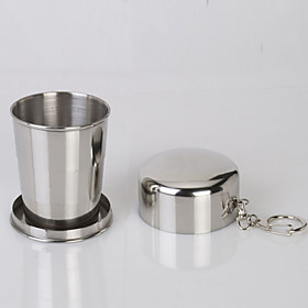 Retractable Stainless Steel Portable Kettle Folding Sports Cups 4828477