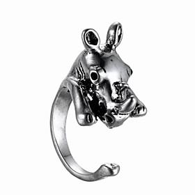 Animal Fashion Stereo Ring 4842163