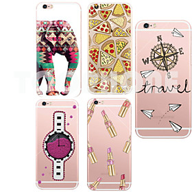 MAYCARIElephant Soft Transparent TPU Back Case for iPhone 5/5S(Assorted Colors) 4833335