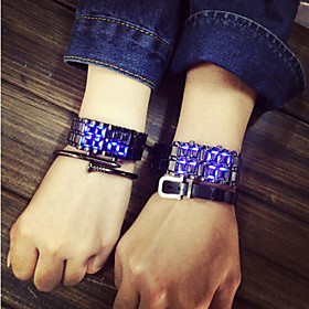 2016 Fashion LED Screen Watch Luminous Light-Emitting Strap Students Lovers Watches (Assorted Color) Cool Watches Unique Watches 4817892