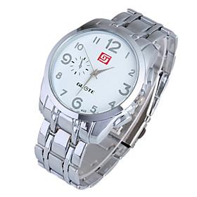 Ladies' Watch Fashion Digital Steel Band Quartz Watch
