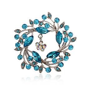 Da donna Strass imitazione diamante Lega Di tendenza Viola Rosa blu navy Azzurro chiaro Gioielli Feste Quotidiano Casual 4842319
