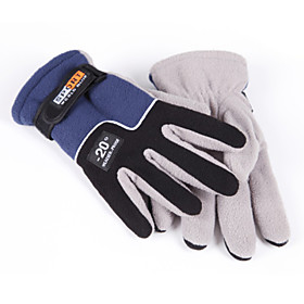 Men's Thermal Insulated Fleece Winter Outdoor Bicycle Motorcycle Sport Gloves Mittens 4824416