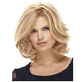 Europe And The United States Sell Like Hot Cakes Blonde Short Hair Wig 4843718