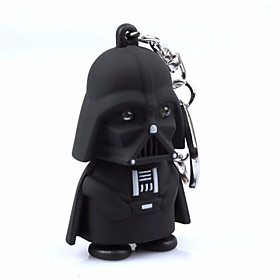 1pc LED Darth Vader Star War Action Figure Yoda Anakin Skywalker Figure Keychains 4821205