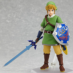 The Legend of Zelda Link PVC Figures Anime Action Jouets modèle Doll Toy 4844653