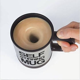 Self Stirring Coffee Mug Automatic Stir Cup Tea Office Funny Gift Mixing Drinks 4875172