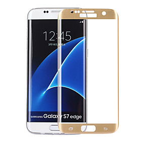 ASLING 0.2mm 3D Full Cover Arc Explosion-proof Tempered Glass Screen Protector for Samsung S7 Edge 4855420