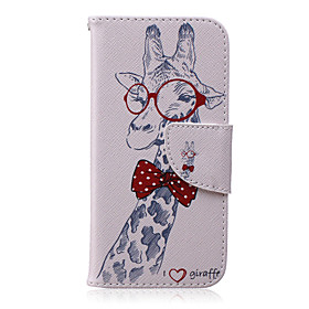 Case For Apple iPhone X / iPhone 8 / iPhone 6 Plus Wallet / with Stand / Flip Full Body Cases Animal Hard PU Leather for iPhone X / iPhone 8 Plus / iPhone 8